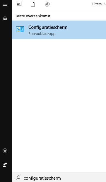 """93948d7def4ad4 Stap 2) Na het openen van het configuratiescherm moet u eerst de weergave  wijzigen naar """"Kleine pictogrammen"""" Klik op Mail (Microsoft Outlook ..."""
